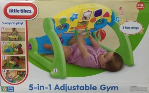 LITTLE TIKES GIMNASIO AJUSTABLE 5 EN 1 COD 635908M