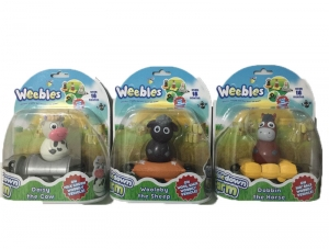 WEEBLES FARM MINI VEHICULO CON FIGURA COD 05472