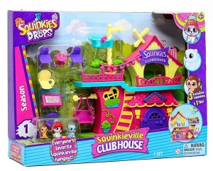 SQUINKIES CLUB HOUSE CASA COLECCIONABLES ORIG TV COD 31796