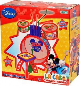 BATERIA MICKEY MY FIRST BAND GRANDE COD 1636