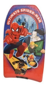 TABLA BARRENADORA SPIDER MAN SURF BODYBOARD 84CM COD 1959