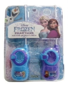 WALKIE TALKIE DISNEY FROZEN ORIGINAL DITOYS COD 2287