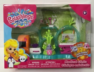 SPLASHLINGS SET CLINICA MEDICA CON FIGURAS COD 297566