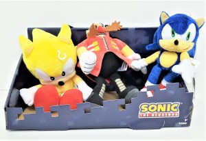 SONIC THE HEDGEHOG PELUCHE COD T22530