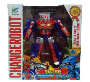TRANSFORMER CHICO EN CAJA CHANGEROBOT COD 6-8