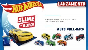HOT WHEELS AUTO RALLY MAS SLIME ORIGINAL COD 5991