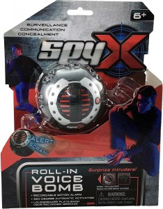 SPY X ROLL IN VOICE BOMB DISTRACCION BOMBA DE VOZ COD 10525