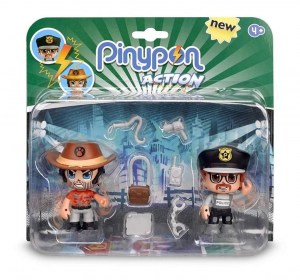 PINYPON  ACTION BLISTER X 2 FIGURAS SURTIDAS COD 14492